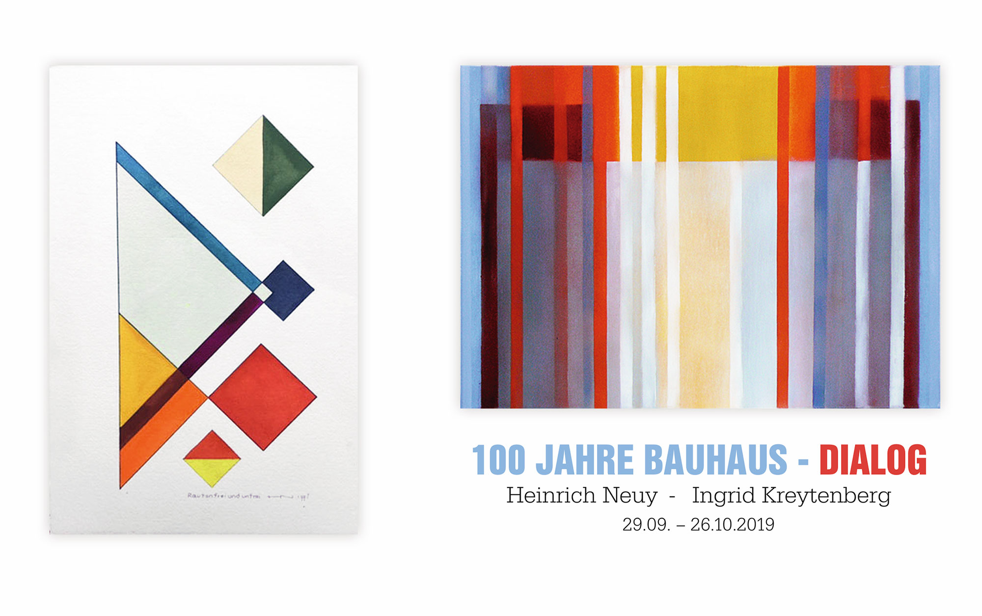 Aufmacher_100Jahre_Bauhaus_Dialog_Heinrich_Neuy_Ingrid_Kreytenberg