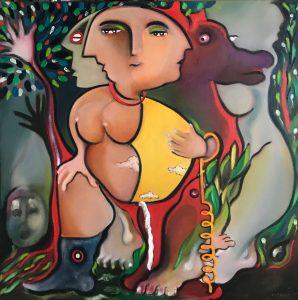 Künstler Duvan - Ausstellung Paradise