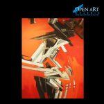 Christine Westenberger, Mischtechnik auf Leinwand, 200 x 150 cm, Preis: 4.500 €