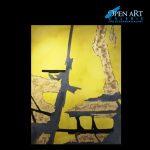 Christine Westenberger, Acryl auf Leinwand, 200 x 150 cm, Preis: 4.500 €