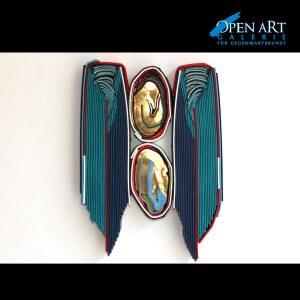 Francois du Plessis Gold Warriors 30 x 22 x 4 cm, Preis: 950,- €