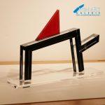 Manel Marzo Mart Skulptur, Acrylglas 50 x 60 x 2,5 cm, Preis: 1.900 €