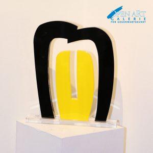 Manel Marzo Mart Skulptur, Acrylglas 40 x 35 x 2,5 cm, Preis: 1.500 €