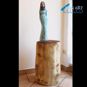 Anja Weinberg Skulptur, 113 x 12 cm, Breite Stamm Preis 1.800 €