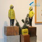 Anja Weinberg Skulptur, 53 x 12 cm Preis 1.200 €
