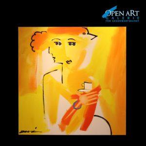 DUVAN Edition auf Leinwand, 100 x 100 cm, 1/6, Preis 1.500 €