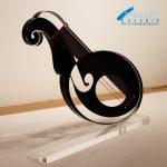 DUVAN Skulptur La Musica, Acrylglas-Skulptur, 50 x 60 cm, Tiefe 2,5 cm, Preis: 1.400 €